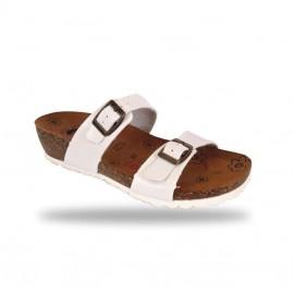 Divat papucs- comfort papucs V56 Bianco