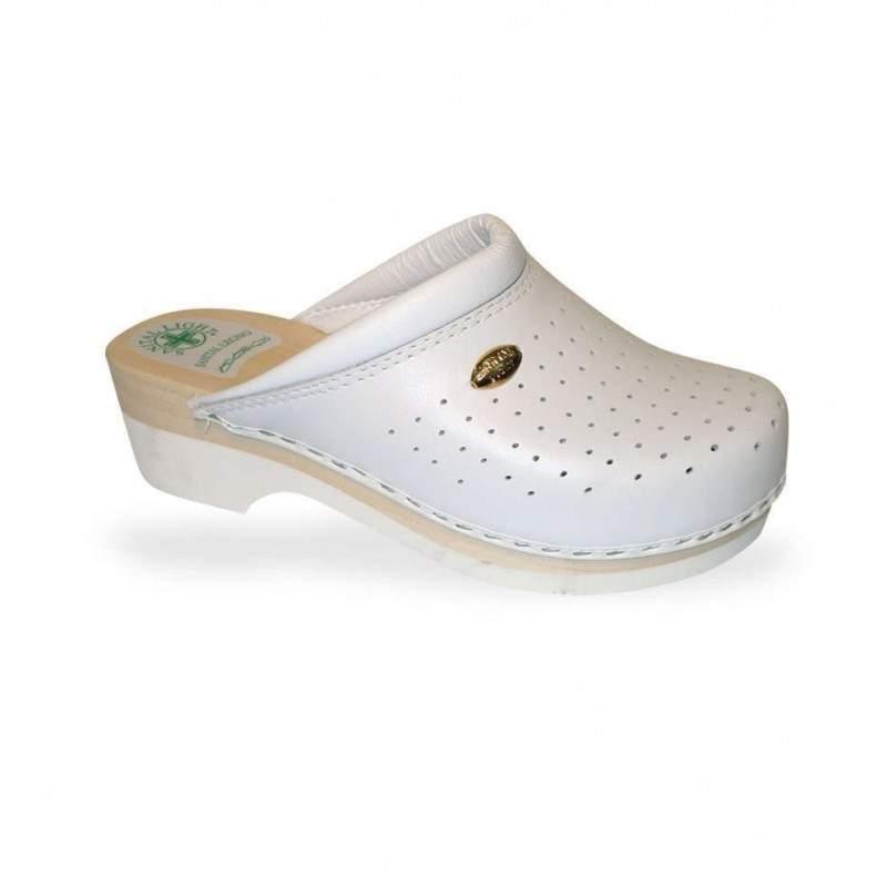 Női papucs - klumpa 2350 Bianco