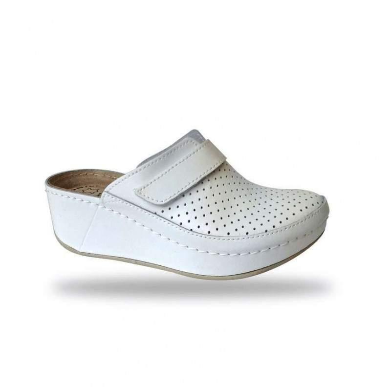 Női papucs - divat papucs D130 Bianco