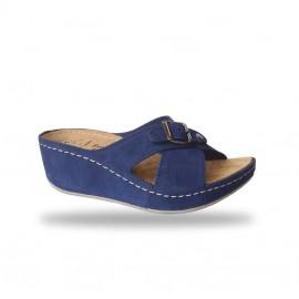 Női papucs - divat papucs D110 Blu