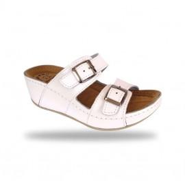 Női papucs - divat papucs D112 Bianco