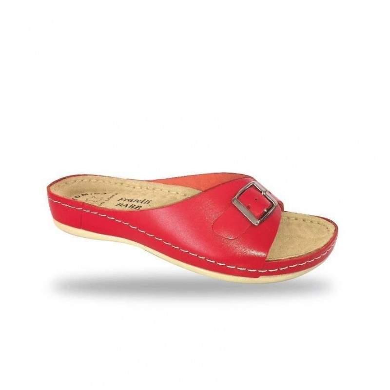 Női papucs - bio papucs D95 Rosso
