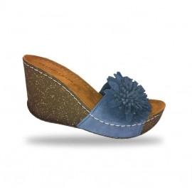 Női papucs - divat papucs D150 Blu