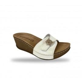 Női papucs - divat papucs D161-n Bianco