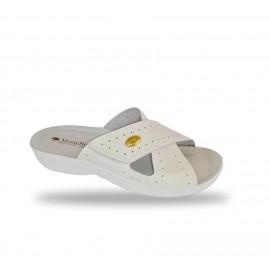 Női komfort papucs 1415 Bianco
