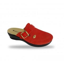 Női papucs - komfort klumpa 6505 Rosso