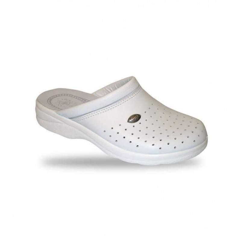 Férfi papucs - klumpa 750 Bianco