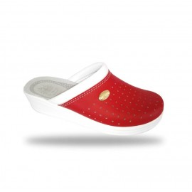 Női papucs - komfort papucs 350 Rosso