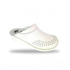 Női anatómiai fehér papucs  - klumpa B011 Bianco