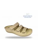 Női biokomfort papucs  - BS-3 Beige Exclusive