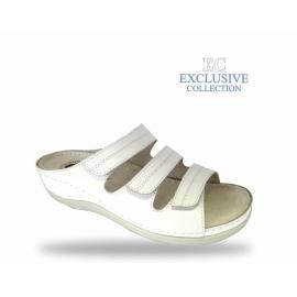 Női biokomfort papucs  - BS-3 Bianco Exclusive