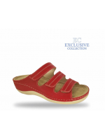 Női biokomfort papucs  - BS-3 Rosso Exclusive