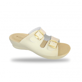 Női papucs - komfort papucs 6015 Beige