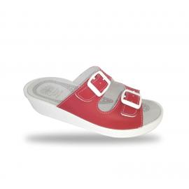 Női papucs - komfort papucs 371 Rosso