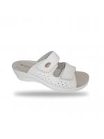 Női papucs - gyógypapucs 6208 Bianco