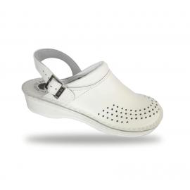 Női anatómiai fehér papucs  - klumpa B011K Bianco