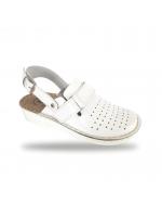 Női anatómiai fehér papucs  - klumpa D52K Bianco