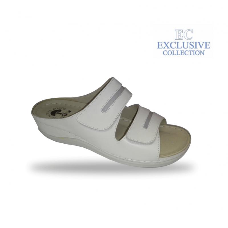 BS-5 fehér anatómiai biokomfort papucs