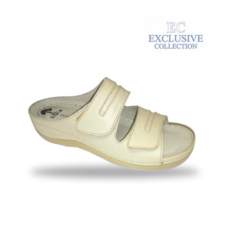 Női biokomfort papucs  - BS-5 Beige Exclusive