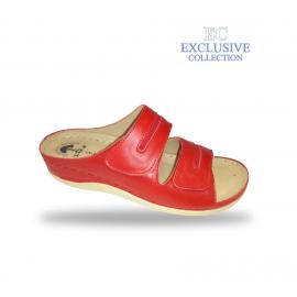 Női biokomfort papucs  - BS-5 Rosso Exclusive