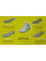 Dr.Feet anatómiai komfort papucs