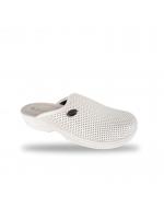 Női kímélő elasztikus komfort papucs 514 Bianco