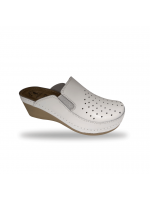 Női komfort - anatom papucs D310 Bianco